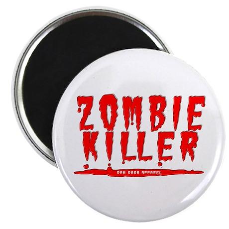 """Zombie Killer 2.25"""" Magnet (100 pack)"""