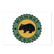 Wombat Rescue Crest II Postcards (Package of 8)