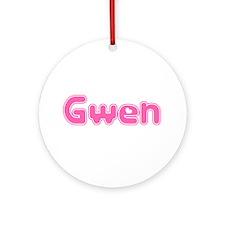 """""""Gwen"""" Ornament (Round)"""