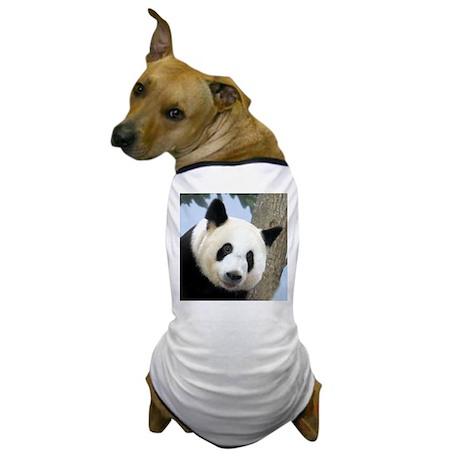Panda Square Photo Dog T-Shirt