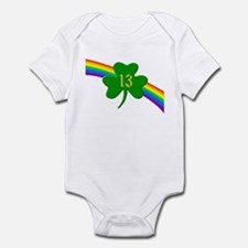 13th Shamrock Infant Bodysuit