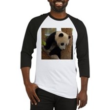 Panda Cub Square Photo Baseball Jersey