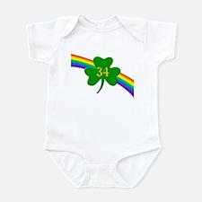 34th Shamrock Infant Bodysuit