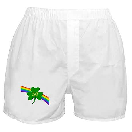 50th Shamrock Boxer Shorts