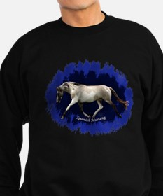 Blue Mulit-colored filly Sweatshirt (dark)