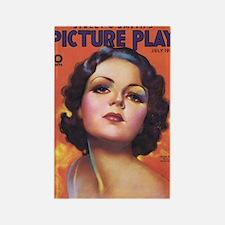 Lilian Bond 1933 Rectangle Magnet