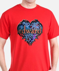 Edward Tattoo Heart T-Shirt