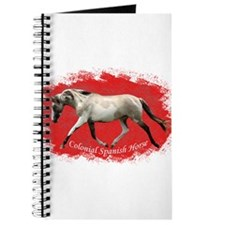 Red Multi-colored filly Journal
