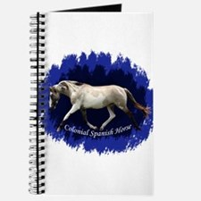 Blue Mulit-colored filly Journal