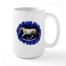 Blue Mulit-colored filly Mug