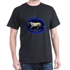 Blue Mulit-colored filly T-Shirt