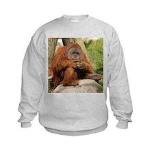 Orangutan Square Photo Sweatshirt