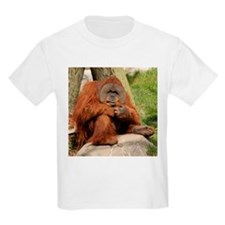 Orangutan Square Photo Kids T-Shirt