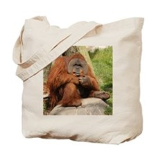 Orangutan Square Photo Tote Bag