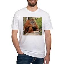 Orangutan Square Photo Shirt