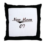 New Moon 09 Throw Pillow