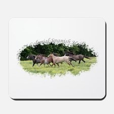 Running Geldings Mousepad