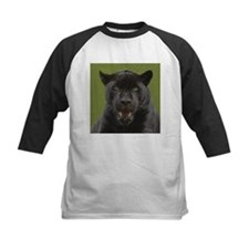 Black Jaguar Square Photo Tee