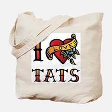 I love tats Tote Bag