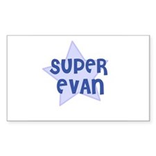 Super Evan Rectangle Decal
