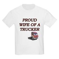 PROUD WIFE TRUCKER copy T-Shirt