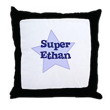 Super Ethan Throw Pillow