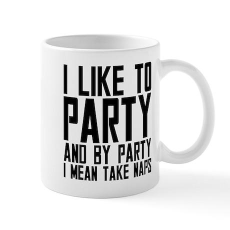 Party Naps Mug