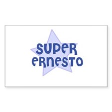 Super Ernesto Rectangle Decal
