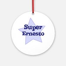 Super Ernesto Ornament (Round)