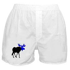 Blue Moose Boxer Shorts
