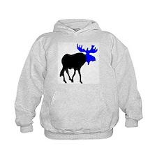 Blue Moose Hoodie