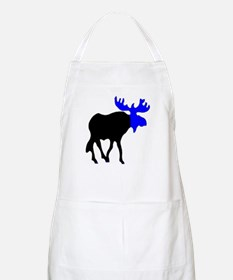 Blue Moose Apron