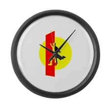 For Him Large Wall Clock