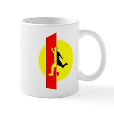 Modern Soccer For Her Mug