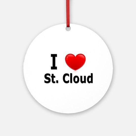 I Love St. Cloud Ornament (Round)