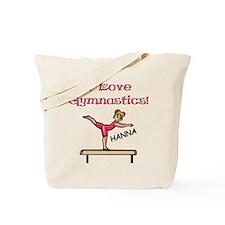 I Love Gymnastics (Hanna) Tote Bag