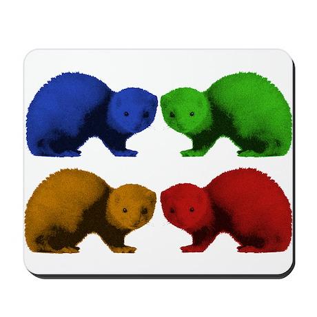 Ferret Colors Mousepad