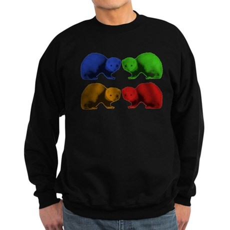 Ferret Colors Sweatshirt (dark)