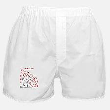 """MMA 101 Armbar"" Boxer Shorts"