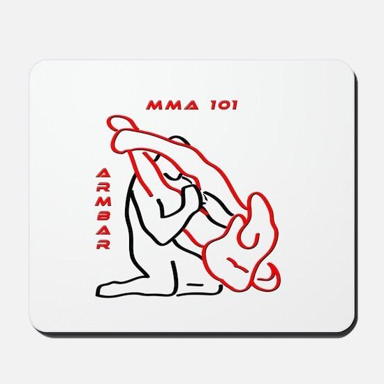 """""""MMA 101 Armbar"""" Mousepad"""