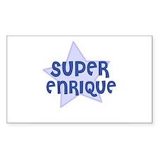 Super Enrique Rectangle Bumper Stickers