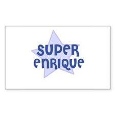 Super Enrique Rectangle Decal
