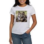 Grey Wolf Square Photo Women's T-Shirt