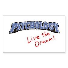 Psychology-LTD Rectangle Decal