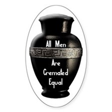 Cremated Oval Decal