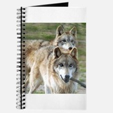 Grey Wolves Square Photo Journal