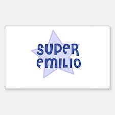 Super Emilio Rectangle Decal