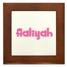"""Aaliyah"" Framed Tile"