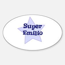 Super Emilio Oval Decal