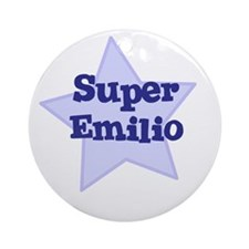 Super Emilio Ornament (Round)